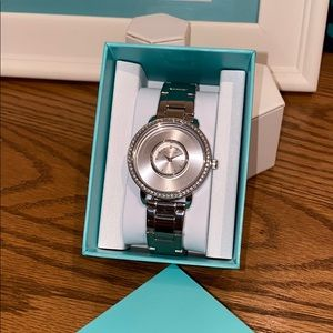 Silver Signature Living Locket Watch